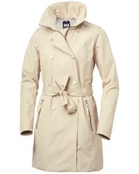 Helly Hansen W Welsey Ii Trench - Natural