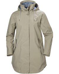 Helly Hansen Sendai Rain Coat Jacket Gray
