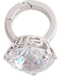 Henri Bendel - Influencer Diamond Ring Charm - Lyst