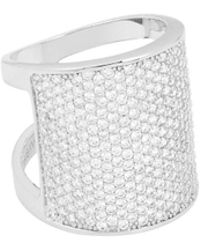 Henri Bendel - Luxe Pave Bold Ring - Lyst