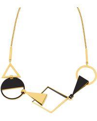 Henri Bendel - Spruce Short Necklace - Lyst