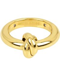 Henri Bendel - Knot Band Ring - Lyst