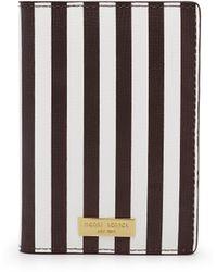 Henri Bendel - Centennial Stripe Passport Cover - Lyst