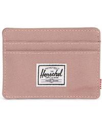 Herschel Supply Co. Charlie Rfid Wallet, - Pink