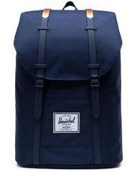 Herschel Supply Co. Peacoat/rain Retreat Backpack - Blue