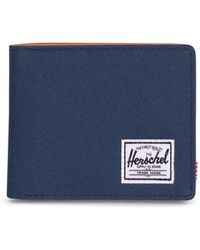 Herschel Supply Co. Hank Rfid Wallet - Blue
