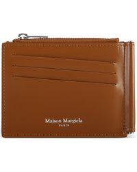 Maison Margiela Money Clip Wallet - Brown