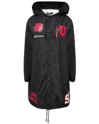 Undercover Ucv1313-2 E Black Coat