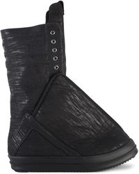 Rick Owens Drkshdw Turbo Hoof Trainers Black