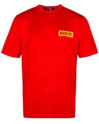 Junya Watanabe Pirelli Patch T-shirt - Red