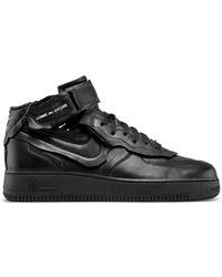 Comme des Garçons Comme Des Garçons X Nike Air Force 1 Trainers - Black