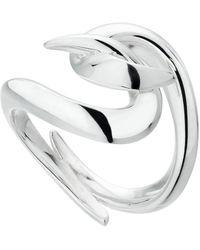 Shaun Leane Silver Hook Ring - Metallic