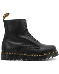 Dr. Martens 1460 Pascal Ziggy Black Luxor Boots