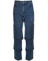 Y. Project Classic Multi Cuff Jeans - Blue