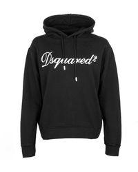 DSquared² Logo-print Hoodie - Black