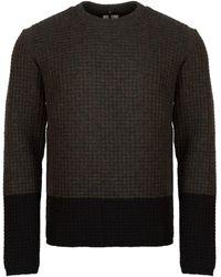 OAMC Emile Crew Neck Wool Sweater - Green