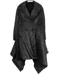 JW Anderson Asymmetric Puffer Coat Black