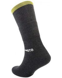 Yohji Yamamoto Pile Tube Socks - Black