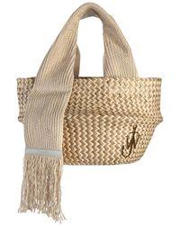 JW Anderson Straw Basket Bag - Multicolor