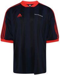 Gosha Rubchinskiy - Adidas S/s Jersey T-shirt Navy - Lyst