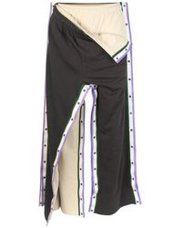 Y. Project Double Snap Track Trousers - Grey