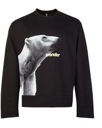 OAMC Tribute Graphic Print Sweatshirt - Black