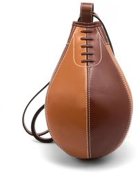 JW Anderson Small Punch Bag Chocolate/pecan - Brown