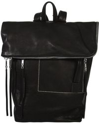 Rick Owens - Leather Medium Duffle Backpack Black - Lyst