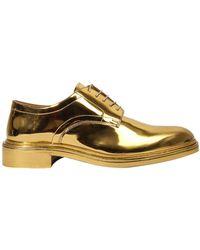Maison Margiela Silver & Gold Lace-Up Derbys l3Cxcxn6R
