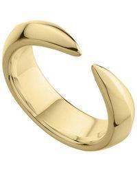 Shaun Leane Yellow Gold Vermeil Arc Ring - Metallic