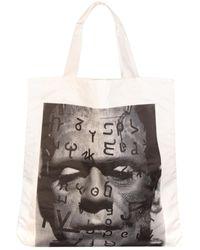 Junya Watanabe Frankenstein Print Tote Bag - Black