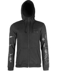 Comme des Garçons Nike X Comme Des Garçons Black Printed Logo Hoodie