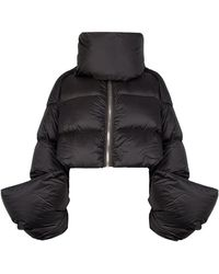 Rick Owens - Babel Mountain Cropped Down Jacket - Lyst
