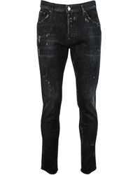 DSquared² 'sexy Mercury' Slim Fit Jeans - Black