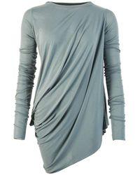 Rick Owens Lilies - Woven T-shirt - Lyst
