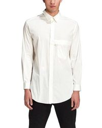 Y-3 - Classic Shirt Core White - Lyst
