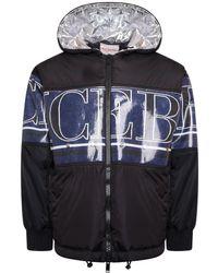 Iceberg Coated Down Jacket - Black