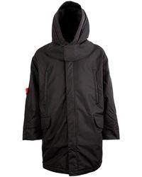 Raf Simons X Templa Oversized Ski Jacket - Black