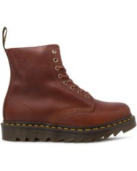 Dr. Martens 1460 Ambassador Soft Leather Pascal 8-eye Boots - Brown