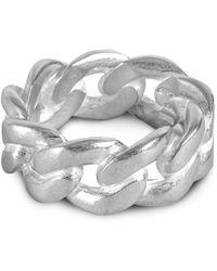 Maison Margiela Chain Ring - Metallic