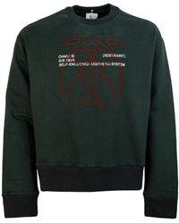 OAMC Taro Crew Neck Sweatshirt - Black