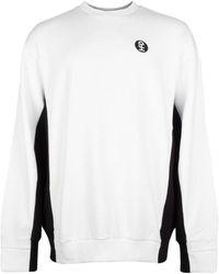 Honey Fucking Dijon Importes Crew Neck Sweatshirt - White