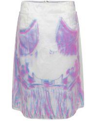 Maison Margiela Sheer Skirt - Multicolour
