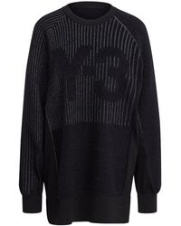 Y-3 Ch1 Eng Knit Top - Black