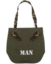 Junya Watanabe Military Canvas Tote - Green