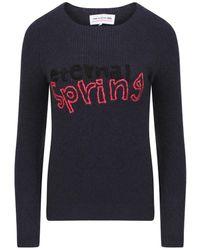 Comme des Garçons Eternal Spring Embroidered Sweatshirt - Multicolour