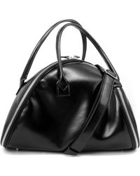Junya Watanabe Asymmetric Zip-around Handbag - Black