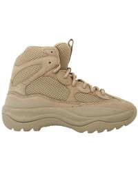 Yeezy   Suede Desert Boot Taupe   Lyst
