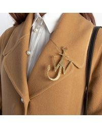 JW Anderson Jwa Anchor Brooch - Metallic