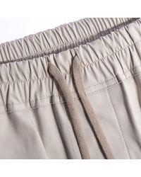 Rick Owens Phlegethon Cargo Pods Shorts Oyster - Natural